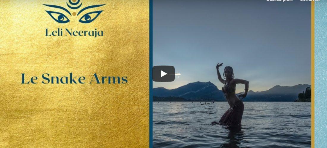 Le braccia nelle danze orientali - Snake Arms